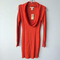 Arden B Dresses & Skirts - Arden B. cold shoulder cowl neck tunic dress