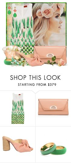 """""""Blushing Bubbly"""" by doozer ❤ liked on Polyvore featuring Missoni, Christian Louboutin, Paloma Barceló, Dries Van Noten and Julie Aylward"""