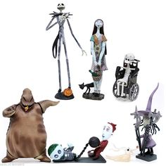 new the nightmare before christmas trading figures series 1 complete set