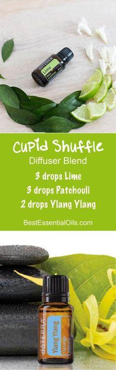 doTERRA Essential Oils Cupid Shuffle Diffuser Blend #PatchouliEssentialOil