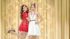 MTV's Faking It stars Katie Stevens and Rita Volk are best friends on screen and off! Bridesmaid Dresses, Prom Dresses, Formal Dresses, Wedding Dresses, Rita Volk, Faking It Mtv, Katie Stevens, Top Rated Movies, Watch Tv Shows