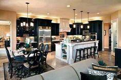Gut ... Küchen Design, Ideen Für Die Küche, Zimmer Küche, Küchenzeug, Mein  Traumhaus, Große Träume, Küchenorganisation, Innendekoration, Schwarzer  Speisesaal, ...