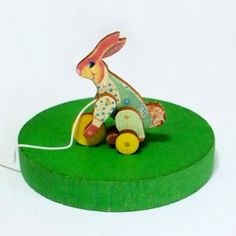 Hey, I found this really awesome Etsy listing at https://www.etsy.com/listing/49701839/reggie-rabbit-pull-toy-miniature-kit