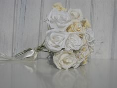 BRIDESMAIDS bouquet wedding flowers bride by moniaflowers on Etsy