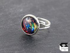 Ringe - ♥ Sternennebel - Ring silberfarben - ein Designerstück von Schmucke-Box…