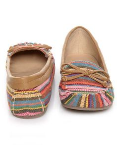 Guatemala Stripe Moccasins - Bought these and I love them, cute and comfy.