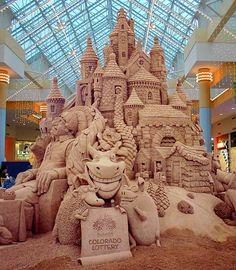 300 ton Sand Castle