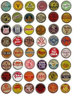 soda bottle caps