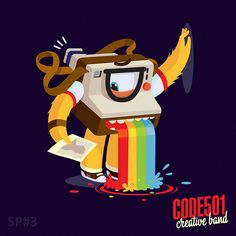 NEW DAY - NEW CHARACTER 2 / Part 1 by CODE501 - CREATIVE BAND !, via Behance
