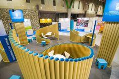 Stand geométrico con tubos de cartón para el #IMFE en el Foro Ser Emprendedor 2016. #Dika #estudio #studio #proyecto #project #foro #seremprendedor #2016 #málaga #costadelsol #diseño #design #IMFE #stand #3D #arquitectura #architecture #efímero #ephemeral #fleeting #cartelería #cartel #tubo #tube #cartón #cardboard #geometría #geometry #circular #figura #shape #madera #wood #graphic #gráfico #material #reciclado #recycled #recycling #ecología #sostenibilidad #sustainability #shieruban