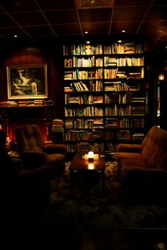 Library Bar in Auckland, New Zealand.