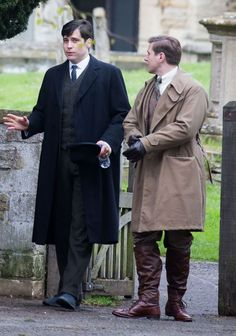 Downton Abbey Series 5:  Is Thomas up to no good again?