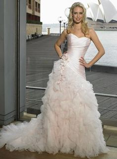 $197 pink wedding dress