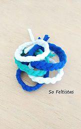 So Feltistas, Handmade Cotton Bracelets.
