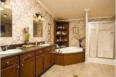 Sm1000 • 44ESM28583AH • 1590 sq.ft • 3 Beds • 2 Baths • $74,000 - $98,000 #dream #bathroom #home #design
