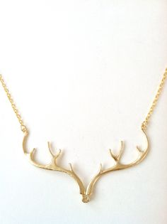 Antler Necklace | A Well-Crafted Life