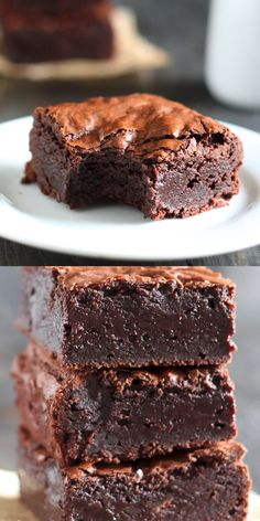 dessert recipes 362962051220032619 - Best brownies EVER! This recipe for Nutella Brownies is chewy, gooey, fudgey, homemade and completely from-scratch! No boxed mix here. Made with cocoa powder and ready in just 1 hour! Easy Cupcake Recipes, Easy Desserts, Dessert Recipes, Recipes For Sweets, French Desserts, Healthy Desserts, Sweet Recipes, Beste Brownies, Chewy Brownies