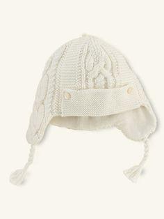 a4fe1195bb52 Aran-Knit Wool-Blend Hat - Accessories Layette Boy (Newborn–9M) -  RalphLauren.com