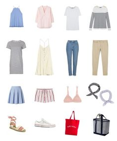 Летний гардероб - Хлопкоые топы, платья, сумки, брюки и обувь Summer wardrobe - cotton tops, dresses, bags, pans and shoes www.wearnissage.com  #style #capsulewardrobe #minimalism #basics #outfits #капсульныйгардероб #стиль #минимализм