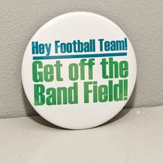 Funny Marching Band 2.25 inch pinback button or by hornandcastle, $3.00