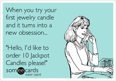 Obsessed with jewelry candles? Try Jackpot Candles!