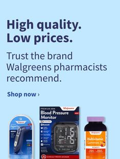 Flexible Spending Account (FSA) Eligible Products | Walgreens Take You Home, Products, Gadget