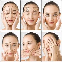Facial Massage The skin around your eyes requires special attention. It needs intense, but delicate treatment. Facial masks, cleansing, and nourishing treatments – all these procedures need to be done regularly. Beauty Care, Beauty Skin, Health And Beauty, Beauty Tips, Diy Beauty, Beauty Products, Healthy Beauty, Homemade Beauty, Beauty Ideas