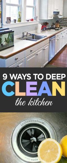 Kitchen cleaning, cleaning hacks, clean home, DIY kitchen, popular pin, easy…
