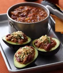 Chili Grilled Hass Avocados With Toasted Jalapeño Breadcrumbs  Recipe :: Hass Avocado Recipes, Fresh Avocado Recipe