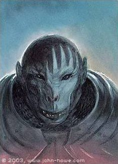 Uglúk was the leader of the Uruk-hai scouts who were sent to pursue the Fellowship of the Ring in TA and was a highly trusted servant of Saruman. Uglúk was ultimately killed when, within that week, Éomer and his outlawed Rohirrim attacked his band. Azog The Defiler, John Howe, Myths & Monsters, Fanart, Jrr Tolkien, Fantasy Armor, Middle Earth, Lord Of The Rings, Fantasy Creatures