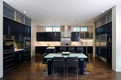 Courtland contemporary kitchen