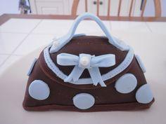 Polka Dot Mini Cake Purse