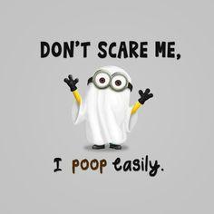 .Scared minion <3