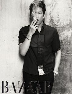 Ji Sung - Harper's Bazaar Magazine July Issue '14