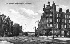 Anniesland cross Glasgow Police, Family History Book, Glasgow Scotland, West End, Old Photos, Big Ben, Places To Visit, Destruction, City