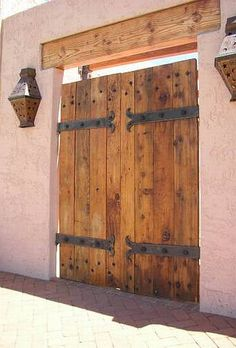 1000 Images About Wooden Doors Amp Gates On Pinterest