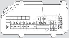 7 Acura TSX (CU2; 2009-2014) fuses ideas   acura tsx, fuse box, acura   Acura Tsx 2010 Fuse Box Diagram      Pinterest