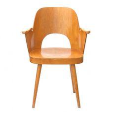 Czechoslovak armchair by Oswald Haerdtl for TON
