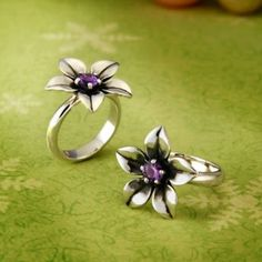 Flower Ring with Amethyst | James Avery