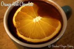 This Orange Hot Chocolate tastes just like a Pepperidge Farm's Orange Milano to me. It's rich with the mild tanginess of fresh orange. Homemade Hot Chocolate, Hot Chocolate Recipes, Food Hub, Xmas Food, Delicious Desserts, Dairy Free, Smoothies, Bakery, Tasty