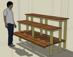 Building a Bonsai bench (table)