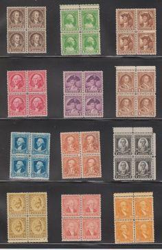 1732-1932 George Washington Bicentennial Stamps 12 Uncancelled Blocks of 4ea. 1/2¢ Thru 10¢ null,http://www.amazon.com/dp/B00EBGS9M0/ref=cm_sw_r_pi_dp_ijA.rb1ZQZH2XE7E