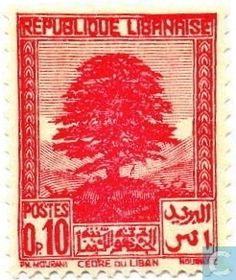 1937  Lebanon - Cedar