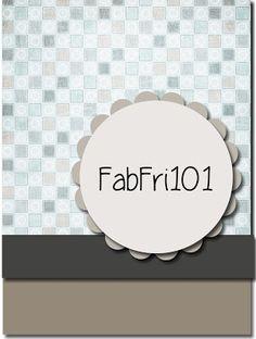 Fab Friday 101 - My Favorite Things - Cookie Crumbs