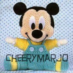 Patron Amigurumi Baby Minnie : 1000+ images about Cosas que adoro on Pinterest ...