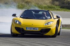 McLaren MP4-12C Spyder | litre twin-turbo V8 makes for a 3.1sec 0-62mph sprint and a top ...