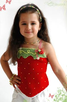 Hand Knit and Crochet Couture Summer Knitting, Knitting For Kids, Crochet For Kids, Hand Knitting, Little Girl Dresses, Little Girls, Girls Dresses, Crochet Bebe, Knit Crochet