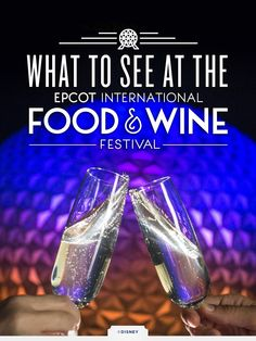 See what's happening this year at the at the 2015 Epcot International Food & Wine Festival at Walt Disney World, September 25 - November 16! Embark on a culinary adventure celebrating with the finest wine and beverage offerings as you taste your way around the world.