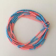 A 7-strand stretch bracelet strapped by a beaded string #etsyshop #seedbeads #stretchbracelet #summerpattern #colourful #summerbracelet Seed Bead Bracelets, Seed Bead Jewelry, Strand Bracelet, Seed Bead Earrings, Bracelet Sizes, Beaded Earrings, Beaded Jewelry, Seed Beads, Bead Earrings