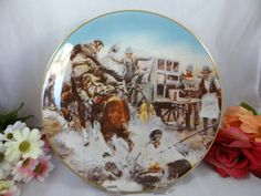 1981 Gorham Fine China Charles Russell Wild West by SecondWindShop, $15.00